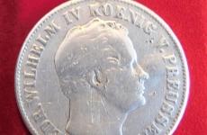 Eine thaler 1845