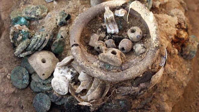 Black Sea treasure 1 Poklad a svědectví pohnutých událostí vydala starodávná pevnost Artezian