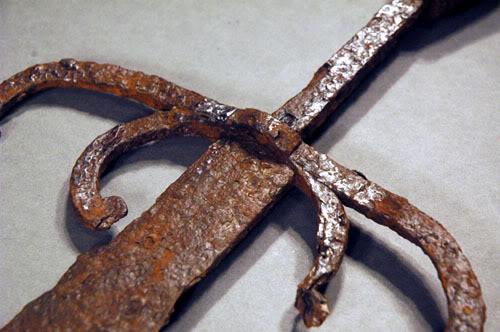 sword facelift Unikátní nález: 500 let starý meč z Djurhamnu