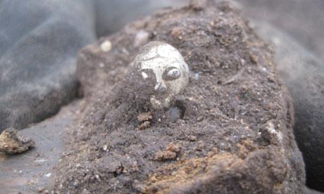 viking valkyria Soška Valkýry nalezena v Dánsku