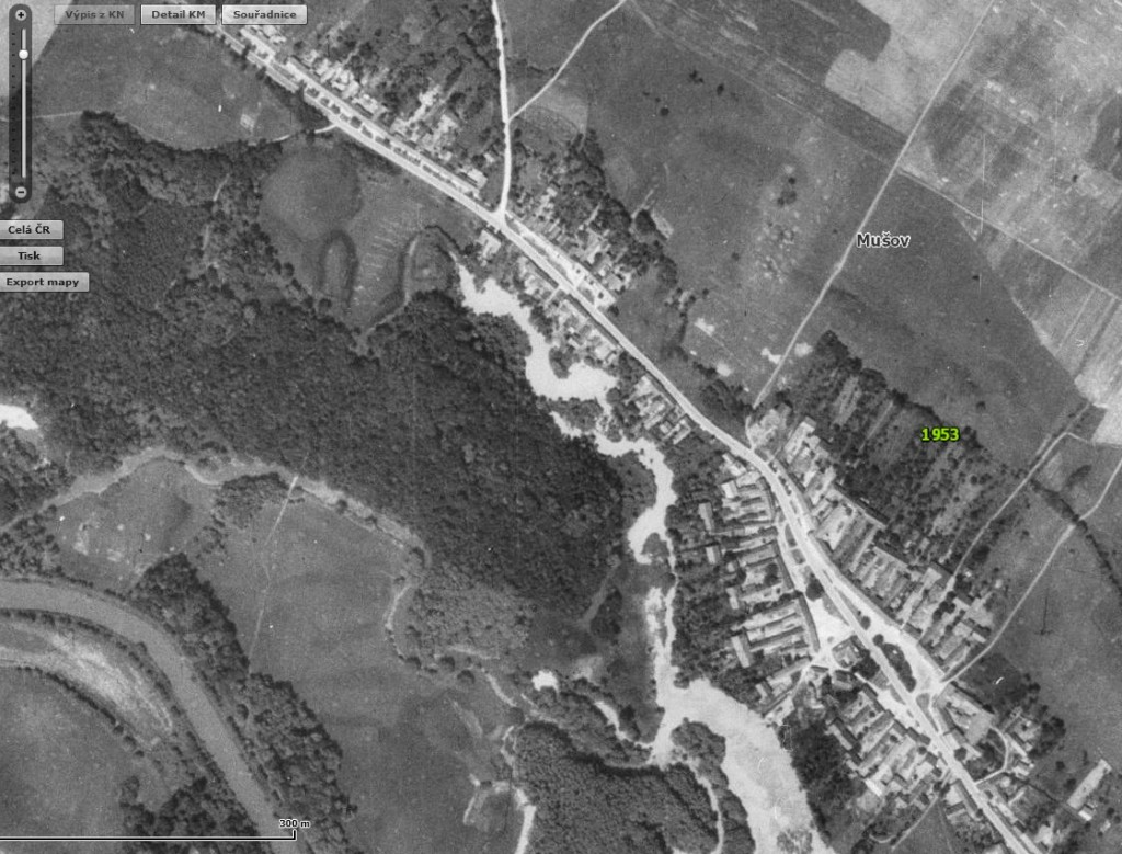 Cenia Mapa2 1024x779 Staré a nové mapy jako pomůcka
