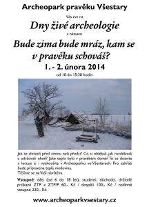 archeopark vsestary 216x300 Dny živé archeologie   Archeopark pravěku Všestary