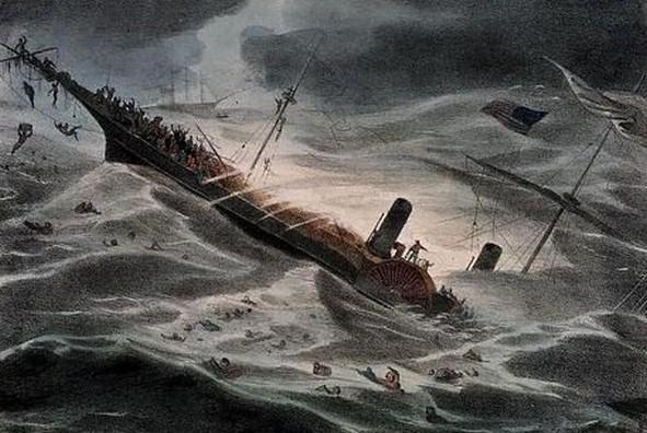 Wreck of the Central America Potopená loď láká lovce pokladů