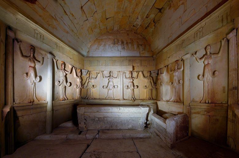 Thracian 4 Thrácká hrobka ve Sveštari plná zlata