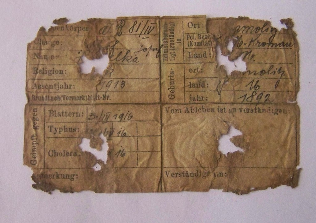 100 2733 1024x724 Příběh jedné ID známky z WWI