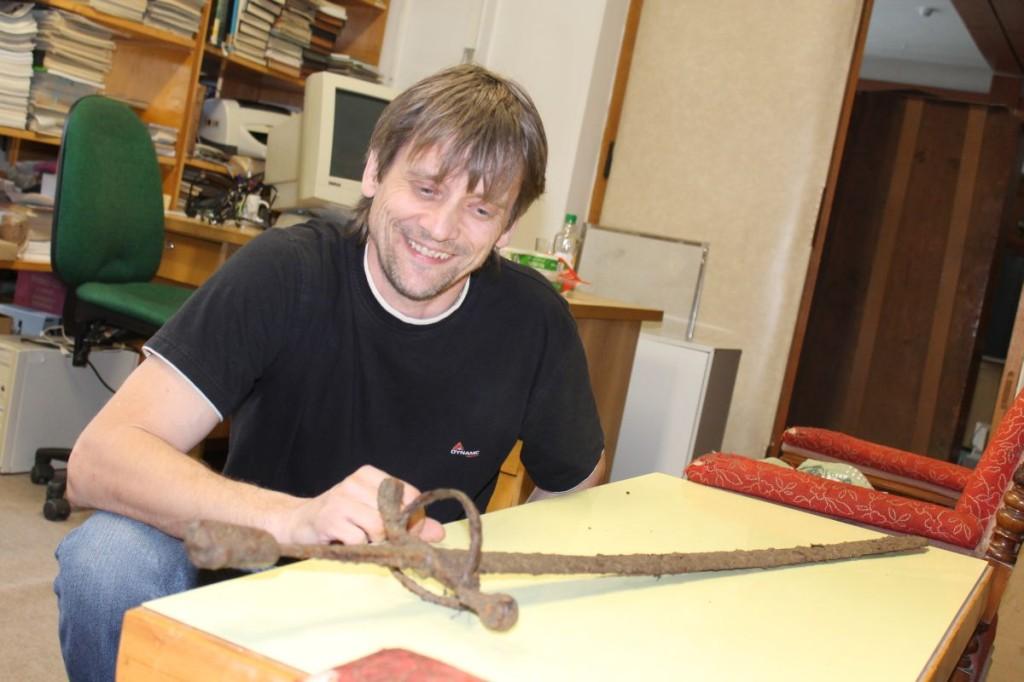 0021 1024x682 Muzeum získalo meč z 16. století