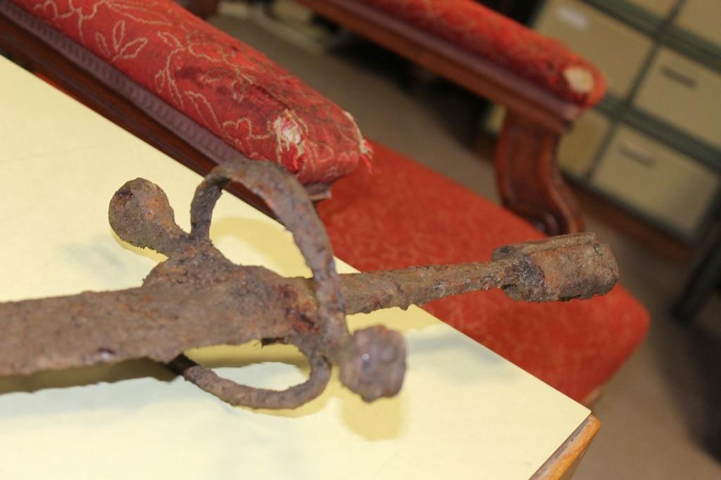 0041 1024x682 Muzeum získalo meč z 16. století