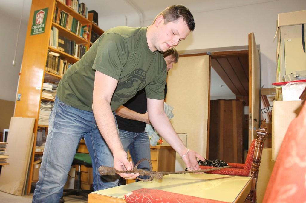 0051 1024x682 Muzeum získalo meč z 16. století