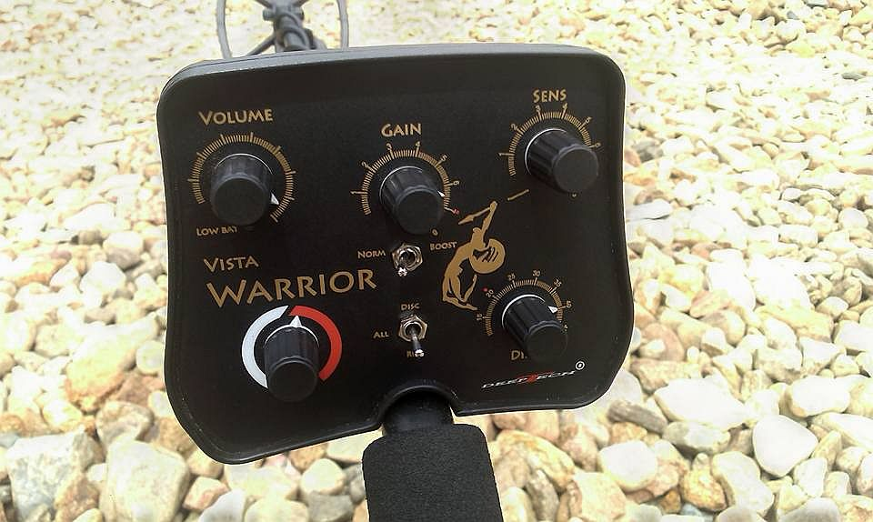 04 Recenze detektoru DeepTech Vista Warrior