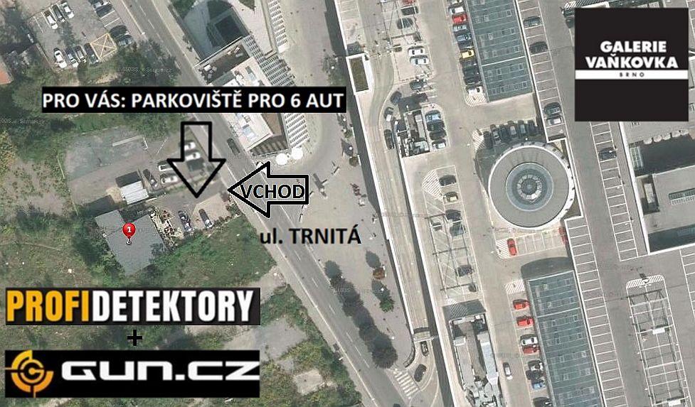 mapa nova prodejna Prodejna detektorů v Brně zrušena...